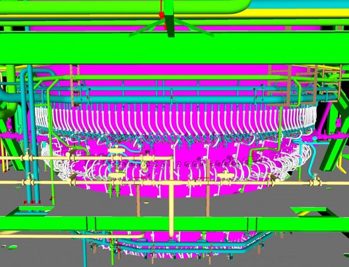 Staves Kühlsysteme für Hochöfen/Corex Anlagen