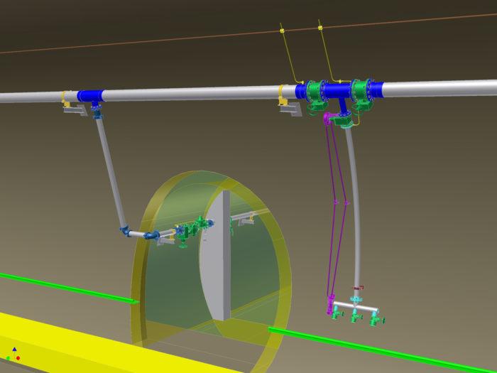 Feuerlöschdruckwasseranlage Tunnel
