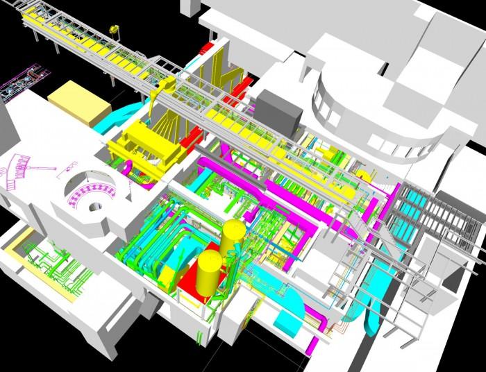 Utilities piping continous casting plant, Austria