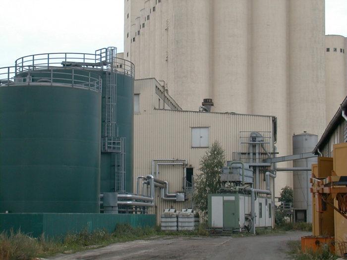 TME Tanklager für Biodiesel, Rohstoffe und Additive