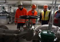 Neue Drahtstraße für Badische Stahlwerke in Kehl am Rhein
