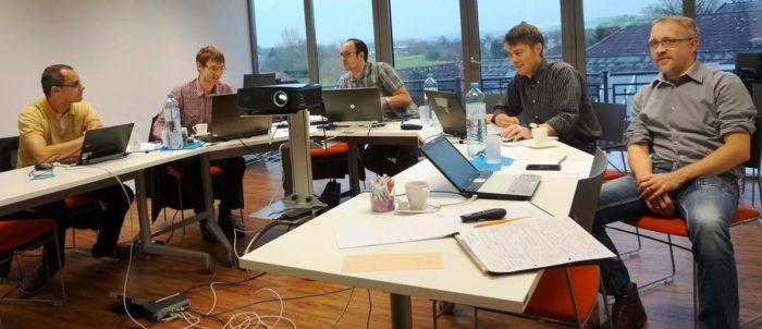 Internationals Meeting in Naarn