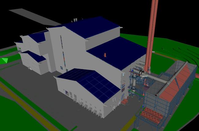 STV 4&5 Müllverbrennungsanlage, England