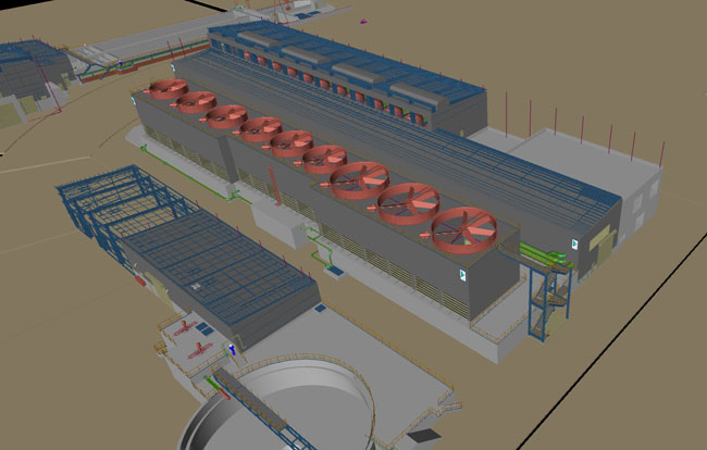 LLEGHENY Water treatment plant, USA