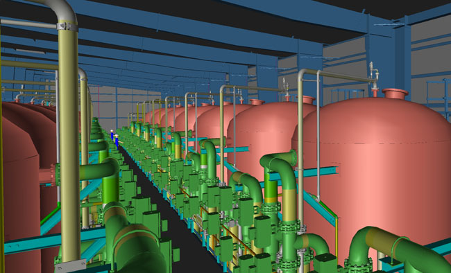 ALLEGHENY Water treatment plant, USA